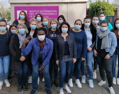 Mars Bleu 2021 - Participation des élèves IFAS/IFAP